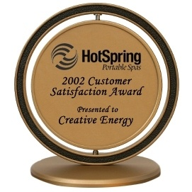 2002 Customer Satisfaction Award