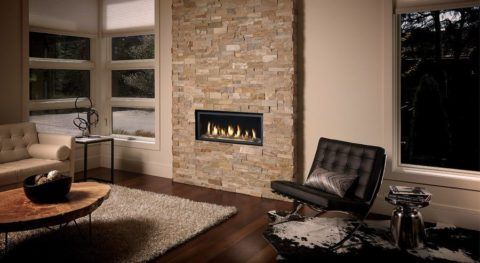 Avalon Fireplace in a Living Room