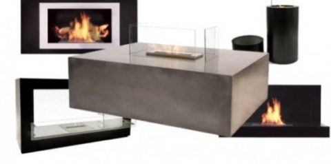 Different Gas Fireplaces