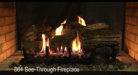 Gas Fireplace Insert Wood