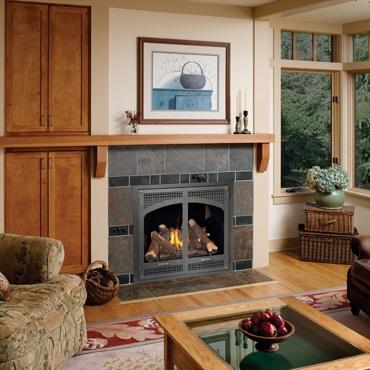 Winthrop High Output Gas Fireplace