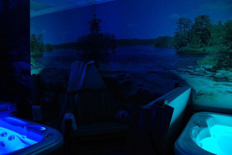 San Rafael Hot Tub Test Room