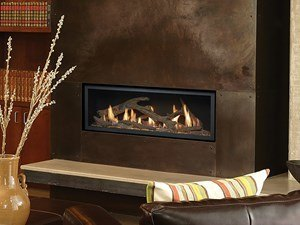 4415 High Output Linear Fireplace Installed in Home
