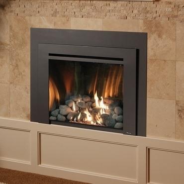 Avalon 616 GSR2 Gas Fireplace Insert Installed
