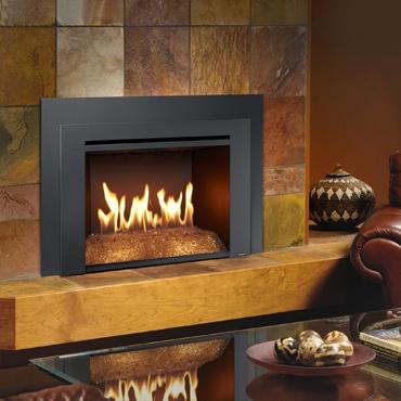 Avalon 616 DF GSR2 Fireplace Installed