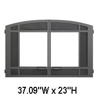 DOOR, 32 DBL DOOR ARCH*