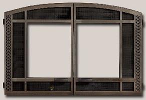 DOOR ONLAY, 32 ARCH ART NKL*
