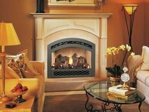 FPX 564 HO GSR2 Scr Gas Fireplace Installed