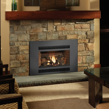 FPX 864 TRV Scr Fireplace Inserts Installed