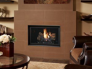 FPX DVS GSR2 NB Fireplace Insert Installed