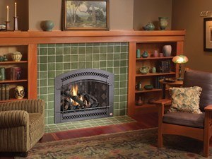 FPX 864 ST GS2 Scr Fireplace Installed