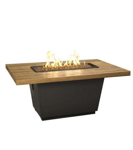 Fresh Barrel Oak Cosmopilitan Rectangle Firetable