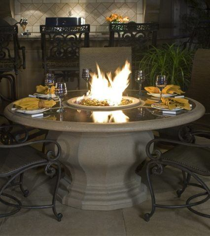 Inverted Dining Firetable