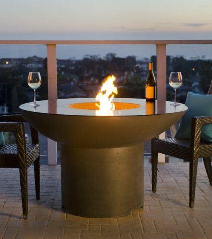 Lotus Dining Firetable