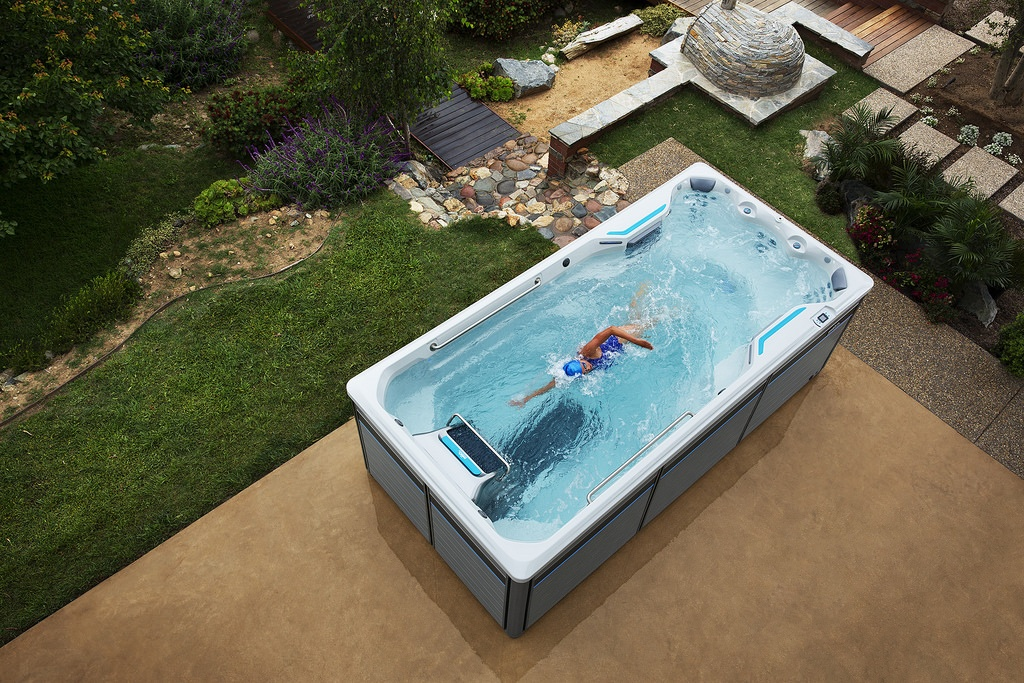 E500 Fitness Spa from above