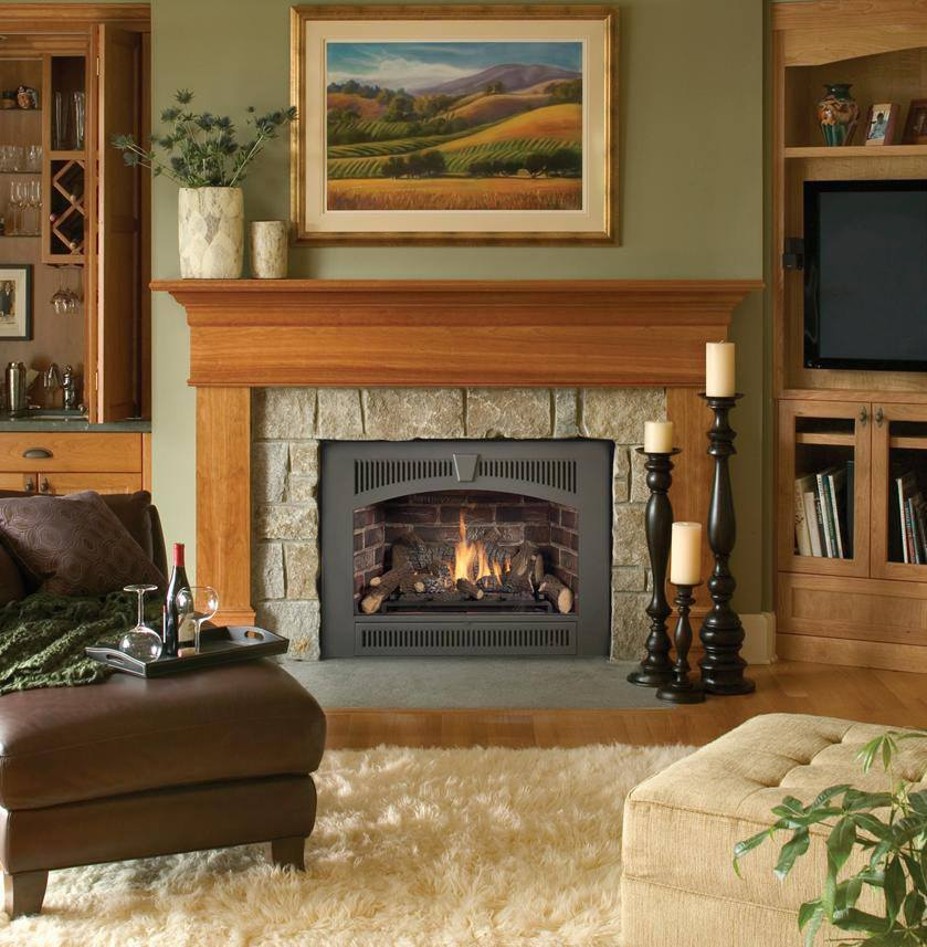 Gas fireplace inserts have the features traditional fireplaces lack: They are efficient heat sources