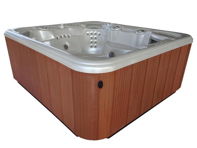 2008 Grandee Pearl Redwood - Used Hot Tub | Creative Energy