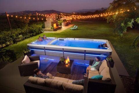 Endless Pools Swim Spa Machine E2000