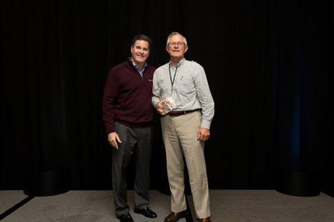 John Kasten with Watkins CEO Steve Hammock