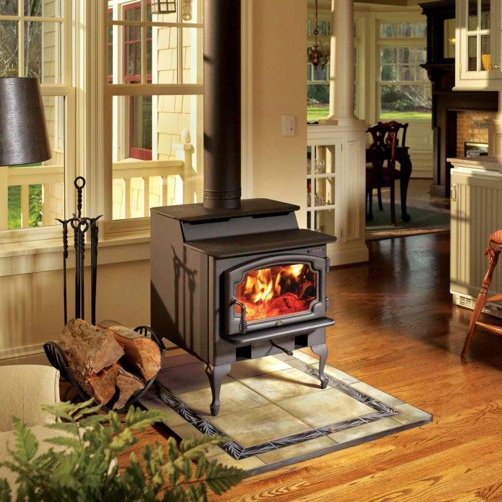 Lopi Endeavor Wood Stove Fireplaces San Rafael