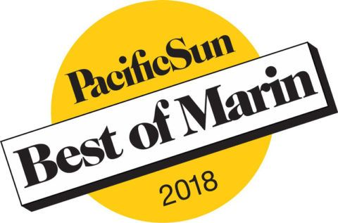 2018 Best Spa & Hot Tub Store Best of Marin Logo